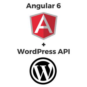 angular 6 and worpress api