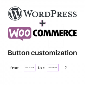 custom woocommerce button